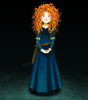 Merida DunBroch by Raiilynezz