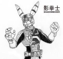Concept Sketch - a Shadowboxer by mitofox
