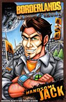 Handsome Jack sketch cover by gb2k