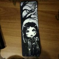 Eric Draven Chibi Bookmark by TheKingOfMoths