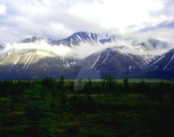 Alaska Mountains 1 by SheathAlchemist