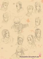 Sketch: NARUTO chronicle by sharingandevil