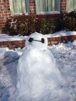 I Made Baymax In The Snow by BleachedStrawberry