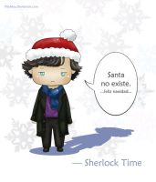 Sherlock Christmas by PityMau
