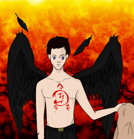 Castiel And The Suicide Mark by Greendayrox489