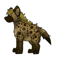 Cas Hyena by The-Smile-Giver