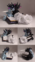Wedding Cake Topper - Book by KingMelissa