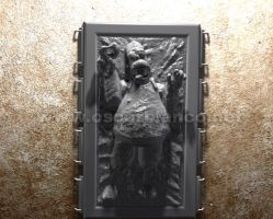 Homer in Carbonite WIP 02 by otas32