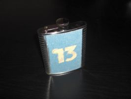 Vault 13 water flask by Ash-crow