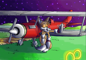 Tails and the Tornado by ThePandamis