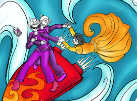 Homestuck - Synchronized Skies by IPonly