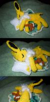 R10S1 Sleeping Jolteon by ScarletPianoWires