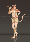 Male!Bastet 2_Commission by CutiChan
