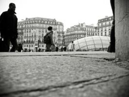 Gare Saint Lazarre by spinal123