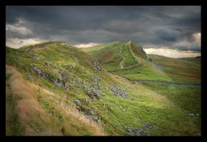 Along The Northern Wall by lucias-tears