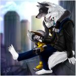 2020 A.D watching in the city by ShaneTheWolf