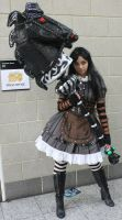 Alice Madness Returns and her Hobby Horse by ctamplincosplay
