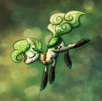 Dive Into Green by Rainspeak