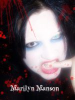 Me as Marilyn Manson by Kimmi-1234