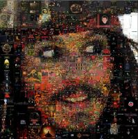 Jack Sparrow Mosaic by Cornejo-Sanchez