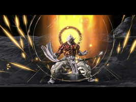 Asura's Wrath- Augus by wolfmantwist96