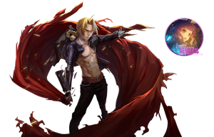 Edward elric Render by shirogane-ken