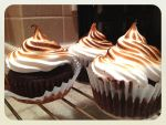 S'mores Cupcakes by LemonIceCandy