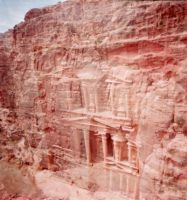 Petra's treasury - Doubly exposed by clemlef