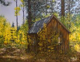 Shady Shack by DanBurgessTheArtist