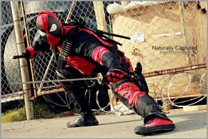 Naturally Captured DeadPool by DPForPrez