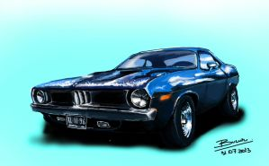Plymouth `Cuda 1972 by VladBucur