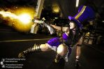 LOL Caitlyn Cosplay at London MCM 2013.10.25 by atmp