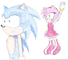 Amy Found Sonic by CarlostheBat36