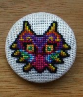 Majora's Mask Badge by CraftyGeeks