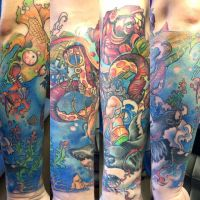 ocean viue 1 by SupremeTattoo