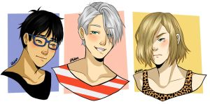 Yuri on Ice ~ Digital Fanart by LilyPad2307