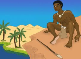 Paleolithic Egyptian by DaBrandonSphere