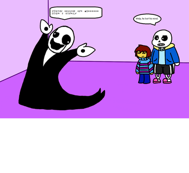 Gaster And Friends. by theamazingLynk