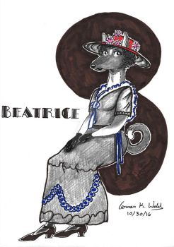 Beatrice - Art Deco/ Art Nouveau by CopperSphinx