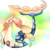 350 Mega Milotic by Shadesofcool