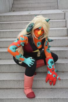 Corrupted Jasper cosplay by iisjah