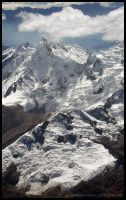 Andes from the air 2 by Dominion-Photography