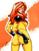 Firestar booty commission by gb2k