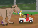 FIve Nights at Jurassic Park by Dracoknight545