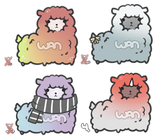Alpaca Adopts [CLOSED] by WanNyan