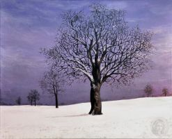 Purple winter by NickMears