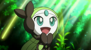 meloetta wallpaper by aoitakeshi2