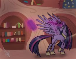 Twilight Sparkle Alicorn by Neferity