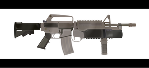 M16 Assault Rifle with GL by Salty-Chee