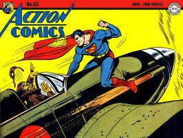 Action Comics 63 Updated by Superman8193